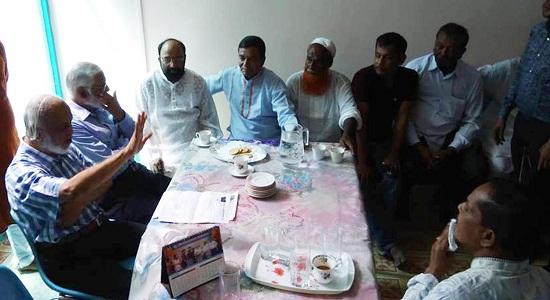 ড. মঈন খানের সাথে গৌরীপুরের বিএনপি'র নেতৃবৃন্দের মতবিনিময়