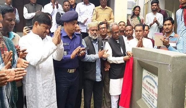 রামগোপালপুর পিজেকে স্কুলের একাডেমিক ভবনের ভিত্তি প্রস্তর স্থাপন