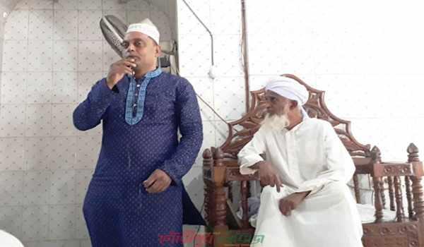 গৌরীপুর বায়তুল আমান জামে মসজিদে জঙ্গিবাদ-মাদক বিরোধী প্রচারণা
