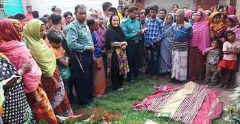 দুর্গাপুরে বৃদ্ধাকে কুপিয়ে হত্যা করলেন প্রতিবেশী