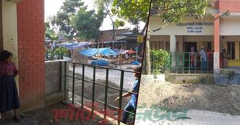 শেরপুরে স্কুলের মাঠ দখল করে বাজার স্থাপনের অভিযোগ