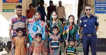 কারাভোগ শেষে ৮ বাংলাদেশিকে ফেরত দিল ভারত