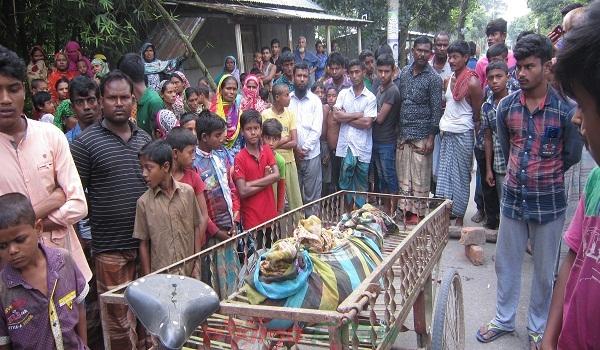গৌরীপুরে মটর সাইকেল চাপায় বৃদ্ধার মৃত্যু