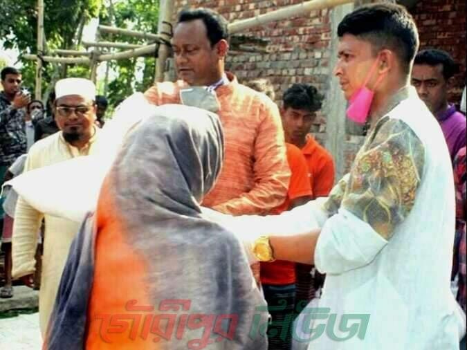 নান্দাইলে দুস্থ মানুষের পাশে হেলিম-রাবেয়া মানবসেবা ফাউন্ডেশন