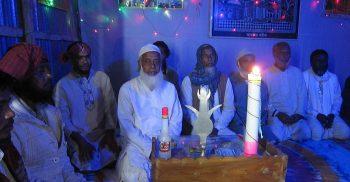 গৌরীপুরে পশ্চিম ভালুকা খানকা শরীফে দোয়া-শান মাহফিল অনুষ্ঠিত