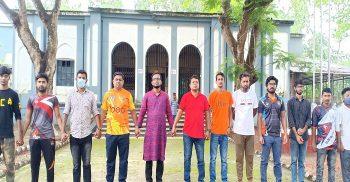 গৌরীপুর সরকারি কলেজে শতবর্ষী কৃষ্ণচূড়া গাছ রক্ষার দাবি