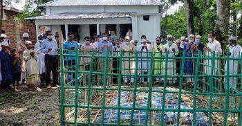 গৌরীপুরে সাবেক ডিজিএম'র কবর জিয়ারত করলেন প্রতিমন্ত্রী আশরাফ আলী