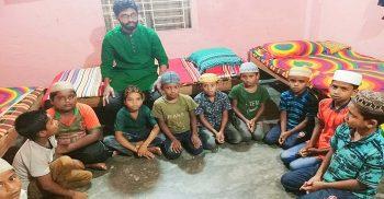 গৌরীপুরে এতিম শিশুদের খাদ্য সামগ্রী দিলেন এমপি নাজিম উদ্দিন