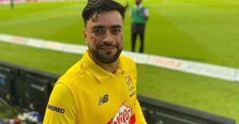 সুর পাল্টালেন আফগান ক্রিকেট তারকা রশিদ খান