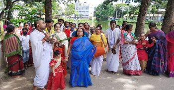 গৌরীপুরে রাধাষ্টমী ব্রত উদযাপন